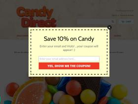 Candydirect.com Coupons