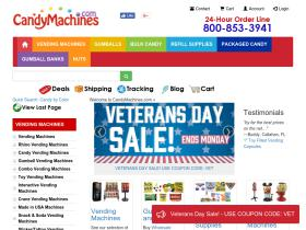 Candymachines.com Coupon Codes