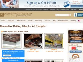 Decorativeceilingtiles.net Coupon Codes