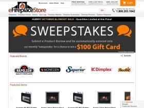 Efireplacestore.com Promo Codes