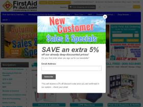 First-aid-product.com Promo Codes