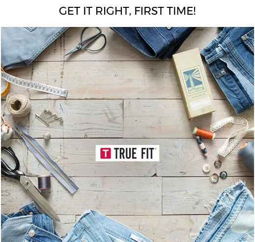 7 For All Mankind: Try TRUE FIT + discover YOUR perfect size!