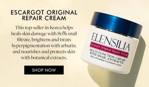 This restorative cream heals skin damage with 80% snail filtrate, brightens and treats dark spots an...
