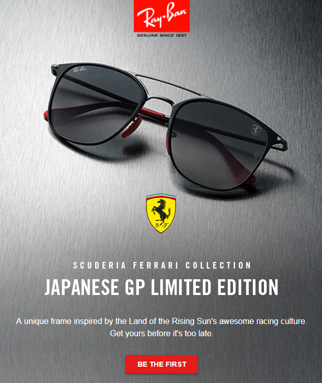2018 LIMITED EDITIONA one-of-a-kind frame for each of the world's most legendary circuits.