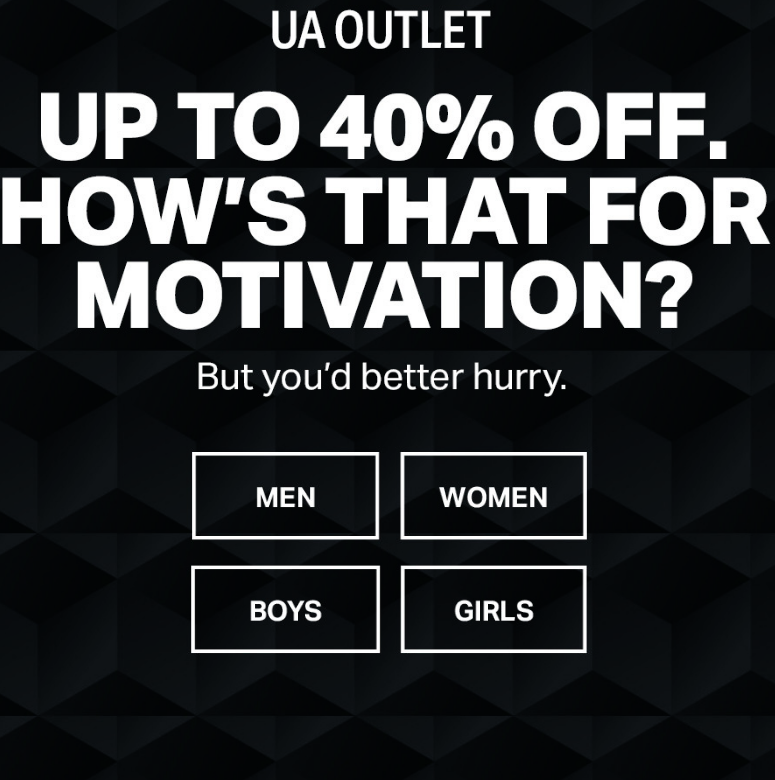 Find the closest UA Brand House or Factory House to get your hands on the latest UA innovations & ho...