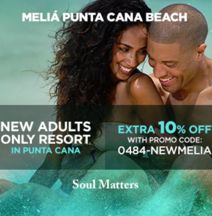 There's no bonding experience for couples quite like a romantic vacation at Meliá Punta Cana Beac...