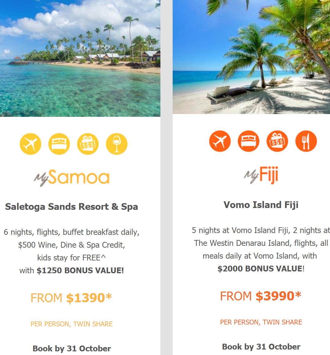 Saletoga Sands Resort & Spa.