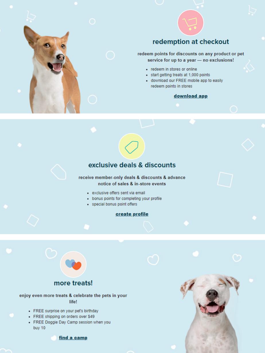 Join PetSmart new loyalty program today & start enjoying exclusive member benefits!