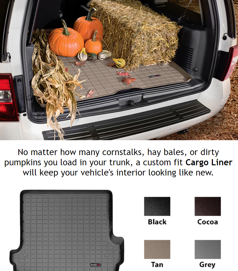 Cargo/Trunk Liners are custom fit laser measured cargo trunk mats designed to keep spills, dirt and ...