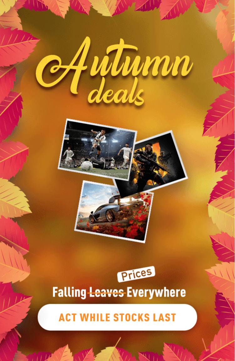 Take the great chance to grab these falling deals.