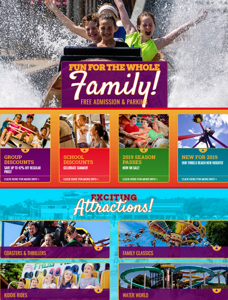 Here are some attractions that the whole family will love. They are favorites among all park goers, ...