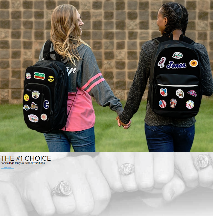 Design Your Own Balfour Id Backpacks & Patches As Seen on Good Morning America and the TODAY Shows!