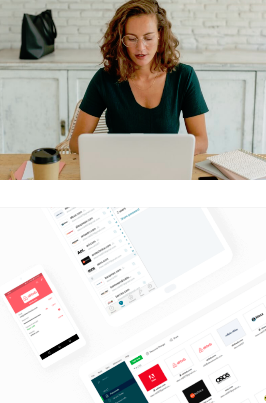 Dashlane is the company-wide solution for password management that everyone will actually love using...