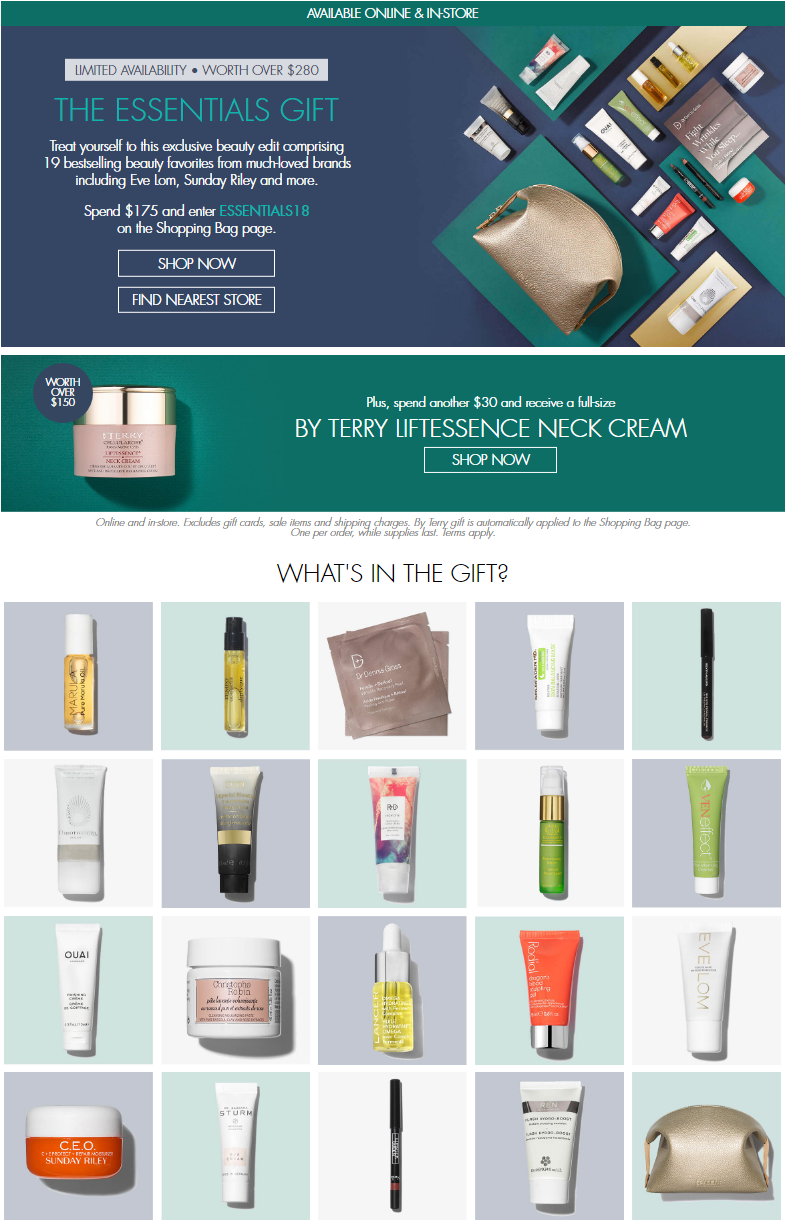 Treat yourself to this exclusive beauty edit comprising 19 bestselling beauty favorites from much‑...