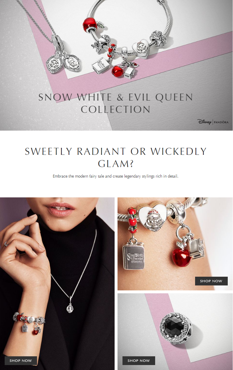 Shop the PANDORA US online store to find the newest styles in snow white disney collection. Embrace ...