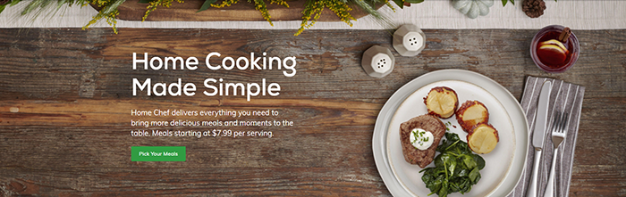 Home Chef delivers everything you need to bring more delicious meals and moments to the table.