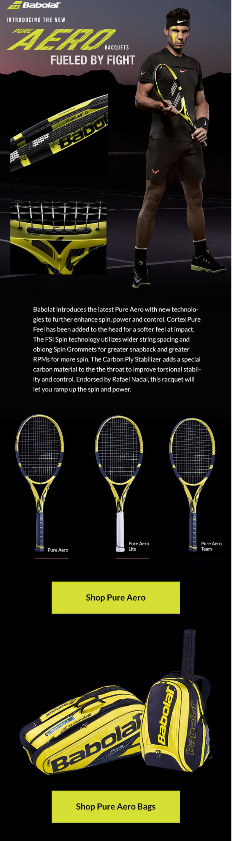Updating one of the game's most iconic racquet lines is a monumental task. With this edition, Babola...