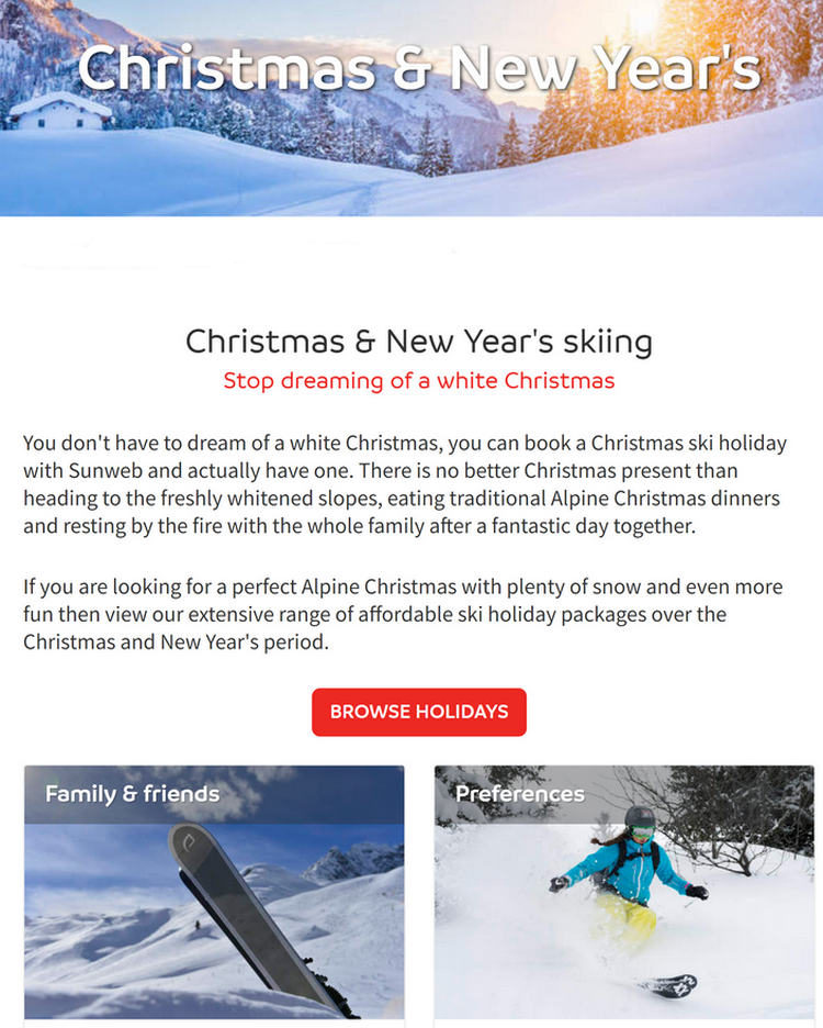 if you are looking for a perfect Alpine Christmas with plenty of snow and even more fun then view th...