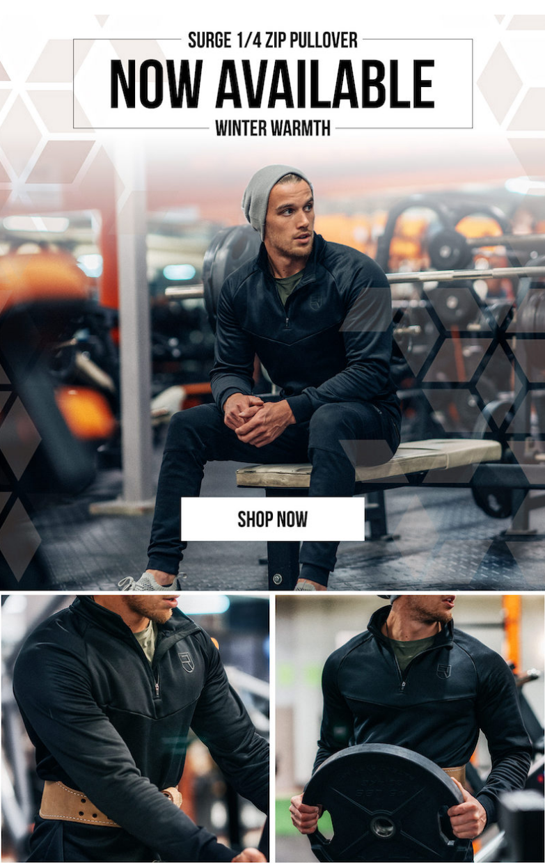To attempt achieving timelessness in apparel without reliability is futile. The Surge 1/4 Zip define...