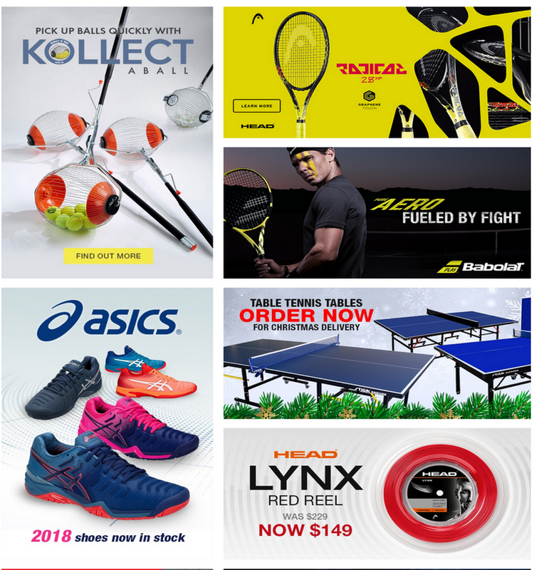 Latest Tennis Warehouse Australia Promo Codes Coupons September 2020