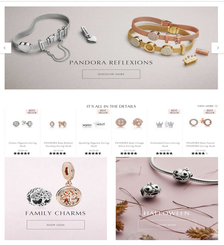 Reflect your personality with creativity and confidence with PANDORA Reflexions collection. With the...