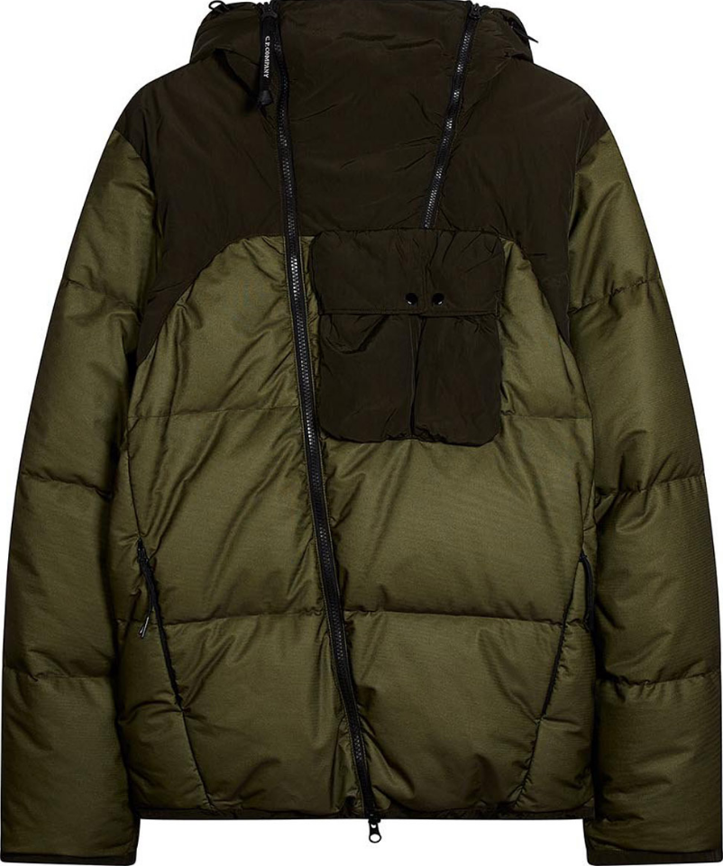The AW'18 Down Jacket produced from Bi-Mesh, a textile that fuses a waterproof membrane to a breatha...