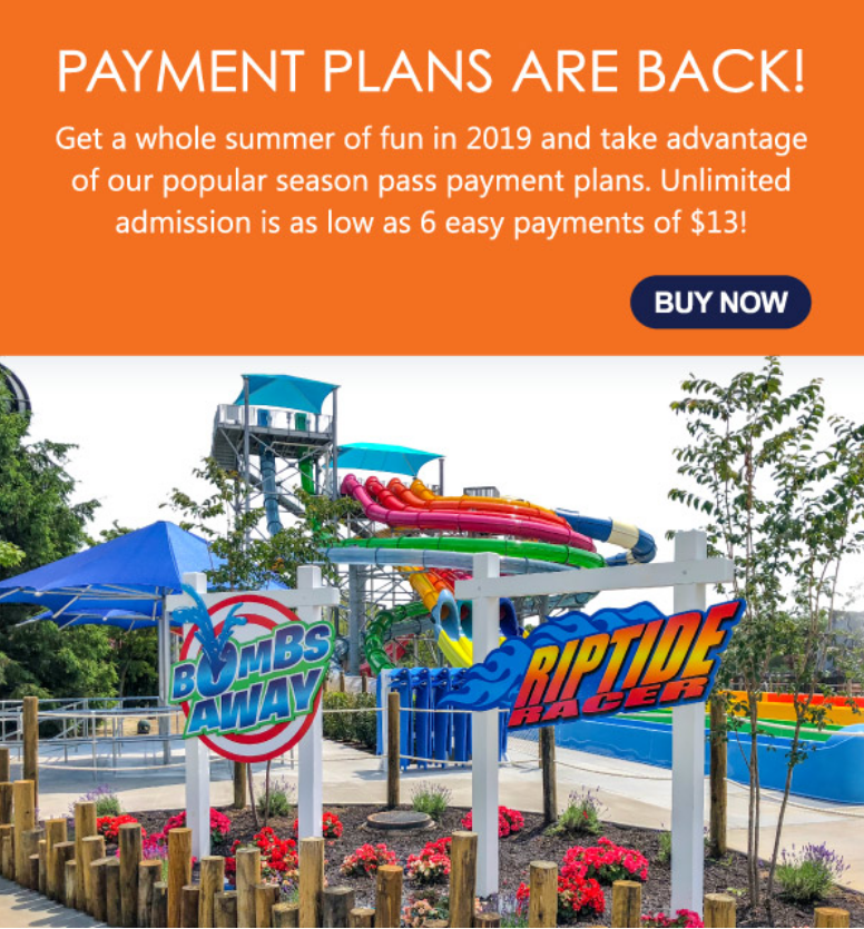 Splish Splash has over 95 acres filled with family-friendly activities and of course the rides and s...