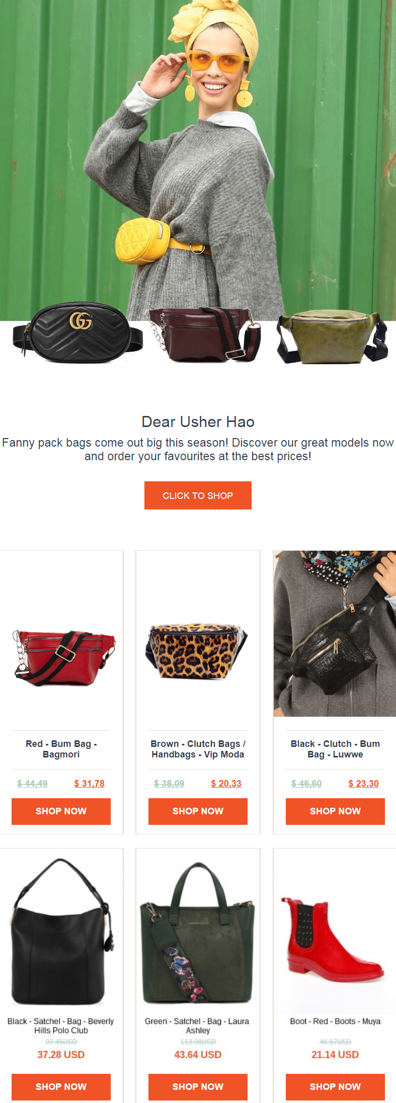Fanny pack bags come out big this season! Discover the great models now and order your favourites at...