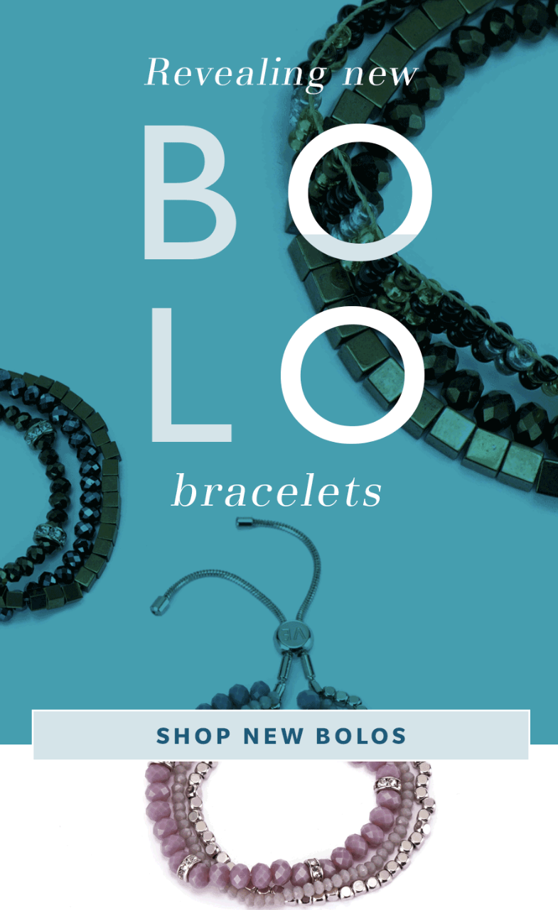 Three gorgeous strands, one classic clasp. The new bolo collection shows beauty through beads.