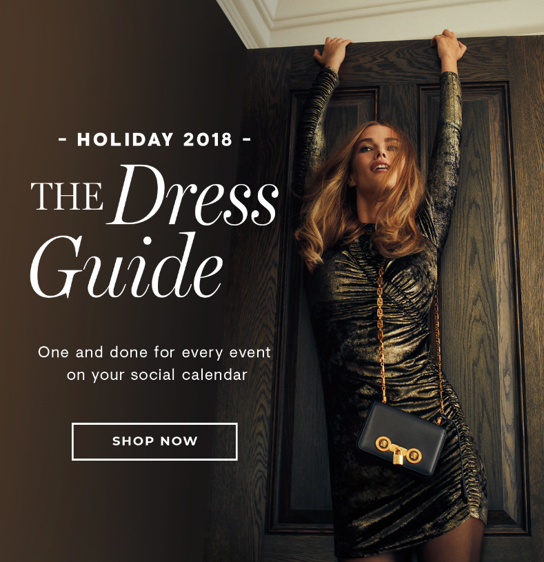 Go ahead, wear sequins in broad daylight-more is more this holiday season.