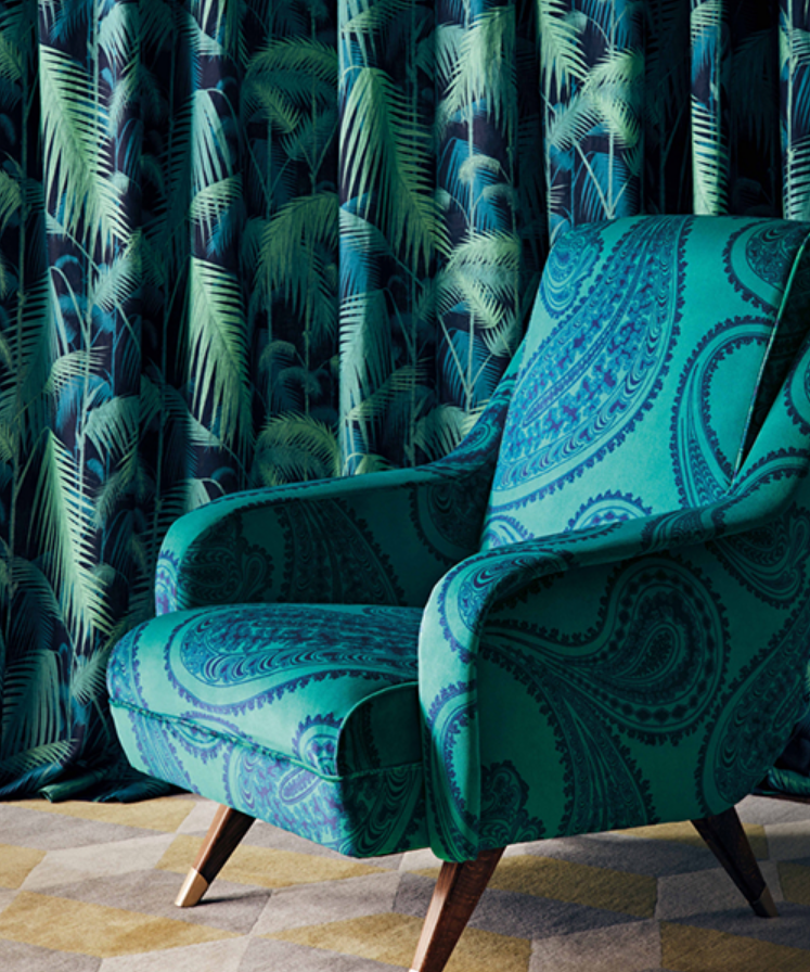 The first fabric collection from Cole & Son is a glorious feast of colour, drawing on their archive ...