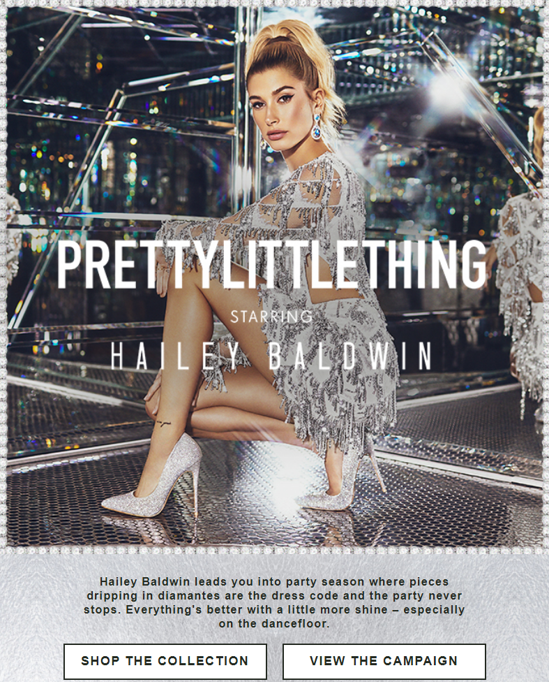 It's time to shine. When it comes to all that glitters, more is always more. Let Hailey Baldwin ta...
