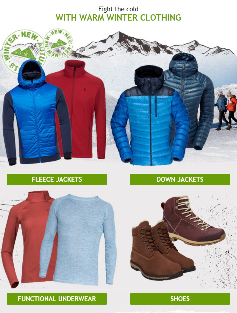 All you need is the proper clothing and you'll be able to enjoy the winter to the fullest - includ...