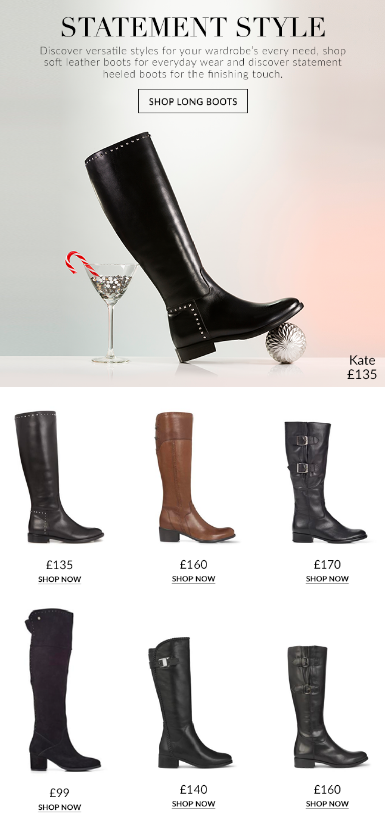 Women's knee high boots for statement style. Discover versatile styles for your wardrobe's every...