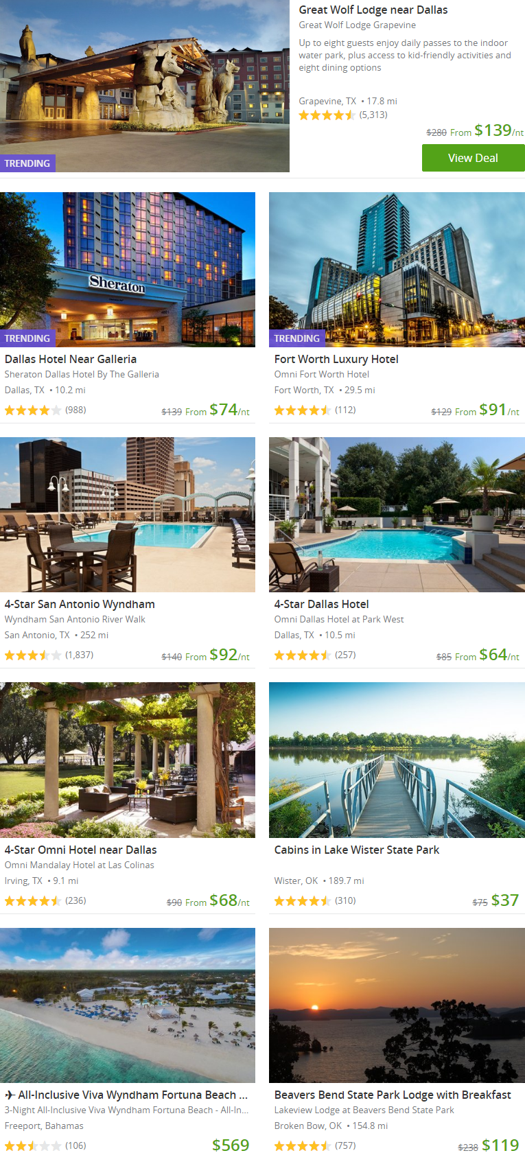 Discover fun activities and huge discounts in your city with Groupon.