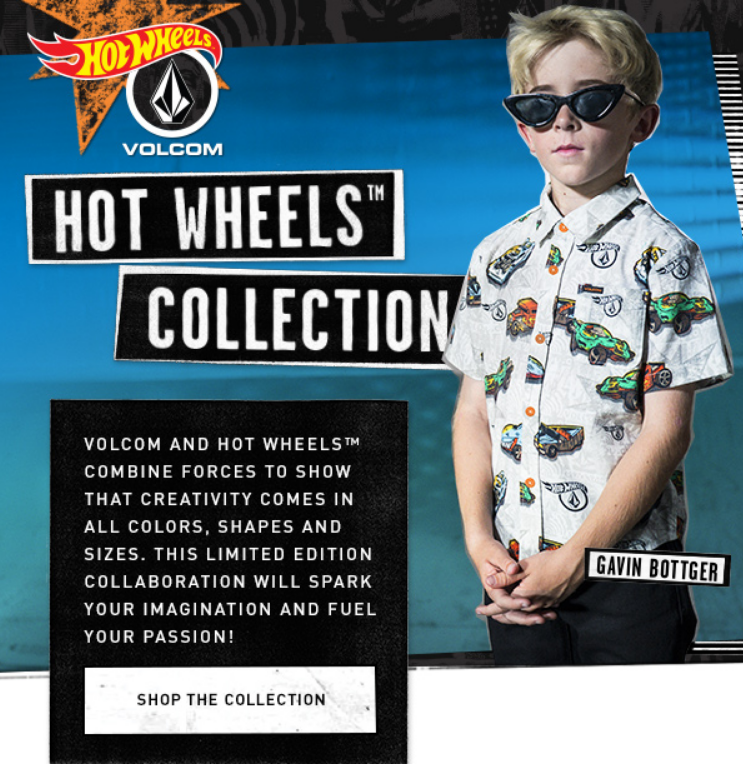 Volcom and hot wheels combine forces to show that creativity comes in all colors, shapes and sizes. ...