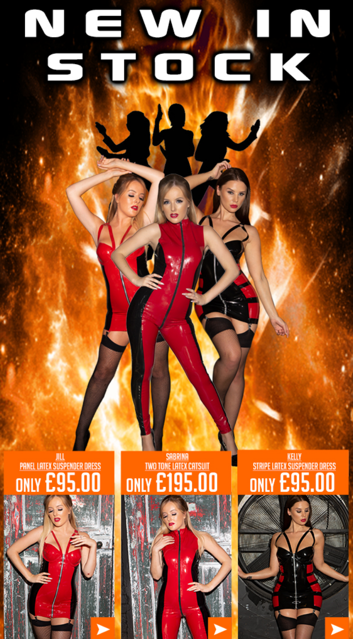With over 30 years of fetish fashion history, Honour is the place to come for all of your latex fash...