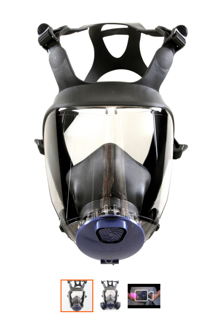 Technological advances make the Moldex 9000 Full Mask Reusable Respirator a leader in its field. Fea...