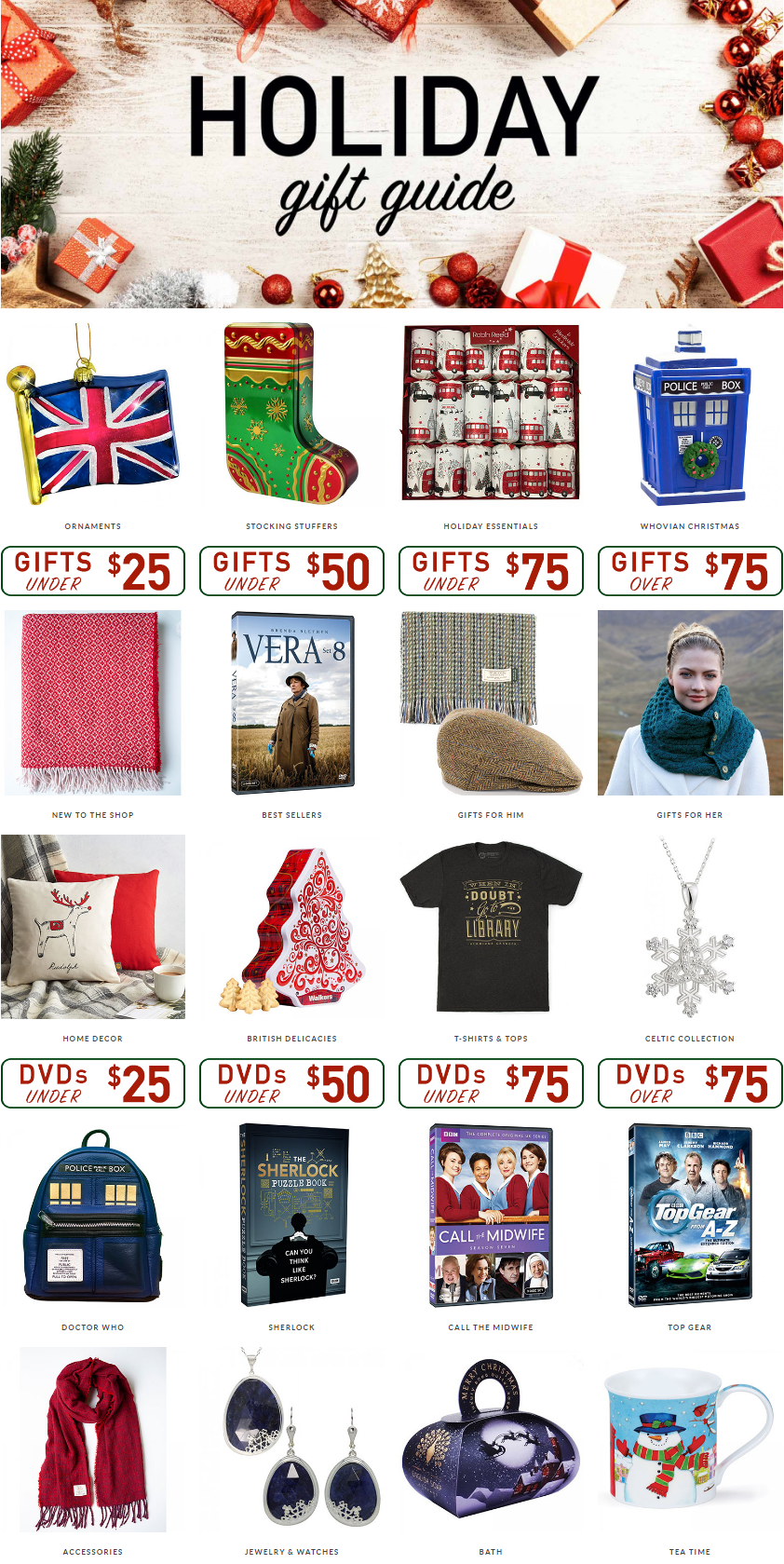 Check out the holiday gift guide for all the best ideas for presents and gifts for your favorite boa...