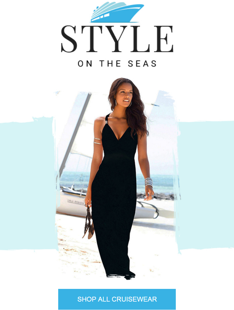 Cruise holidays require stylish packing so check out the latest collection for formal, fresh and fas...