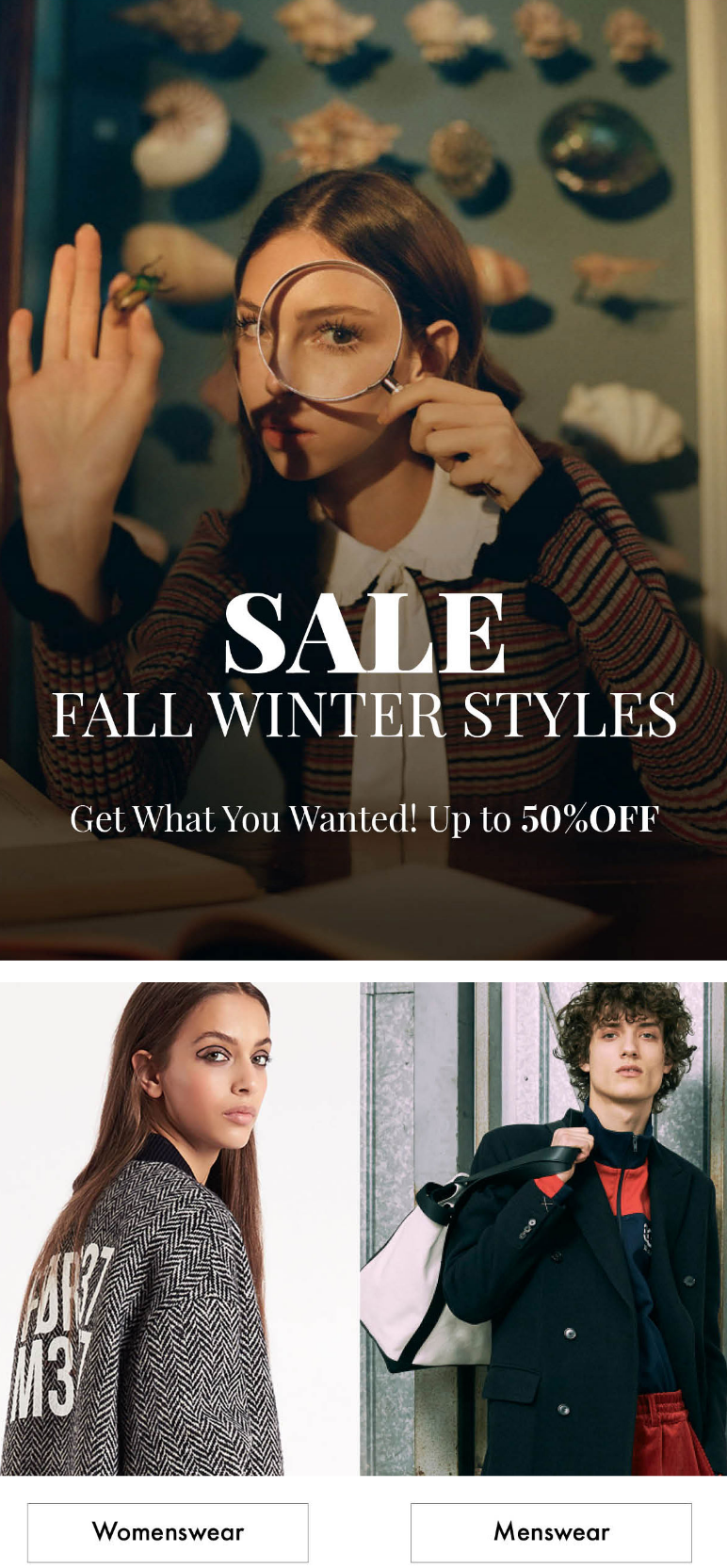 There's no better time for something new. But don't wait, sale items tend to sell out quickly. Shop ...