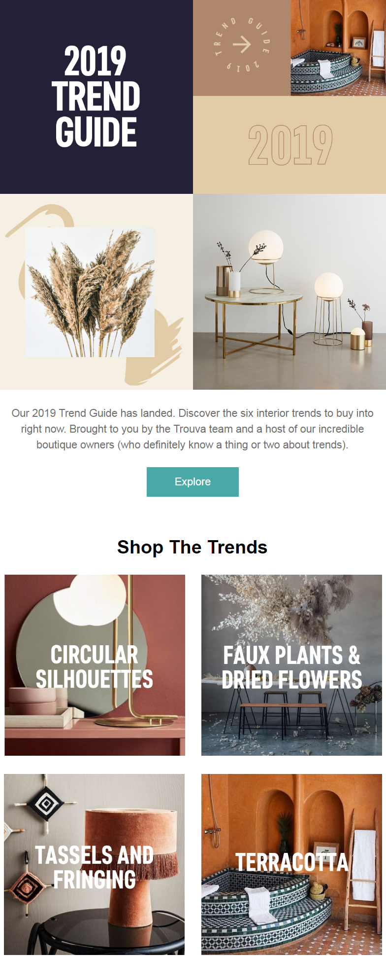 Discover the six interior trends to buy into right now. Brought to you by the Trouva team and a host...
