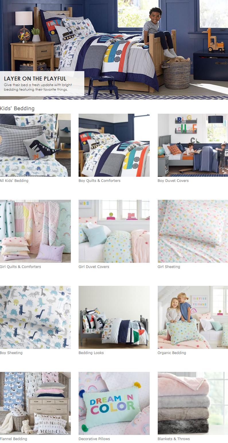 Give their bed a fresh update with bright bedding featuring their favorite things.