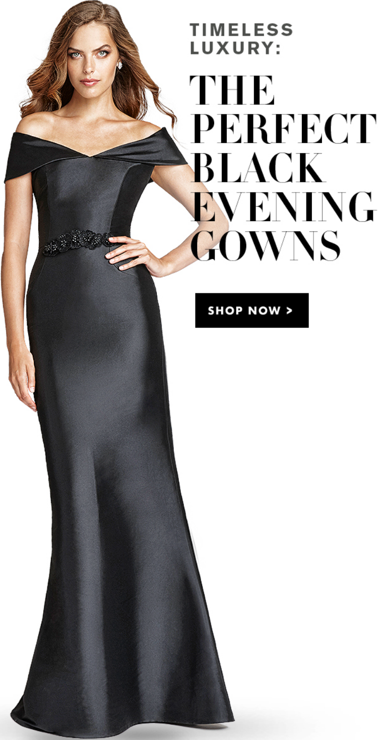 Get your new style in the fashion from the perfect black evening gowns. Go and enjoy yourself.