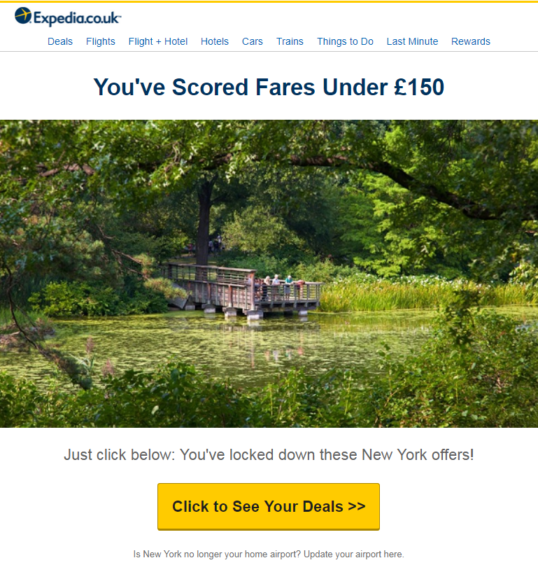 Book an amazing deal on your airline ticket with Expedia at the best price possible! Have a nice tri...