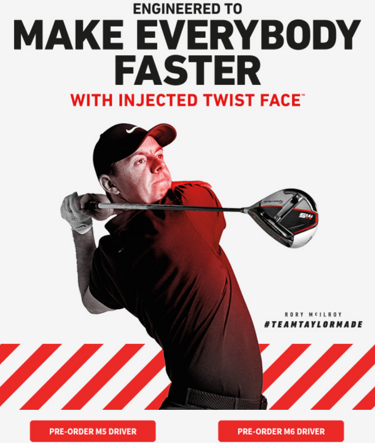With Speed-Injected Twist Face, every single club is calibrated to the threshold of the legal ball-s...