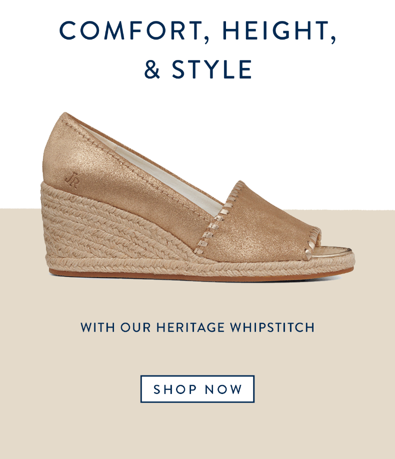 Made of leather, featuring our iconic whipstitch the Palmer Espadrille Wedge is the perfect transiti...