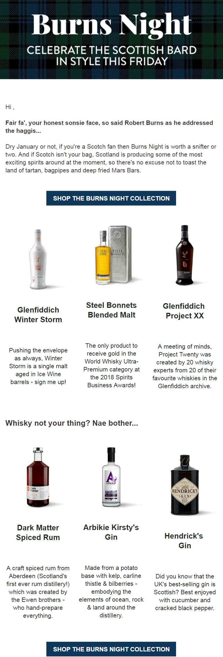 Dry or not, if you're a Scotch fan then Burns Night is worth a snifter or two. And if Scotch isn't y...