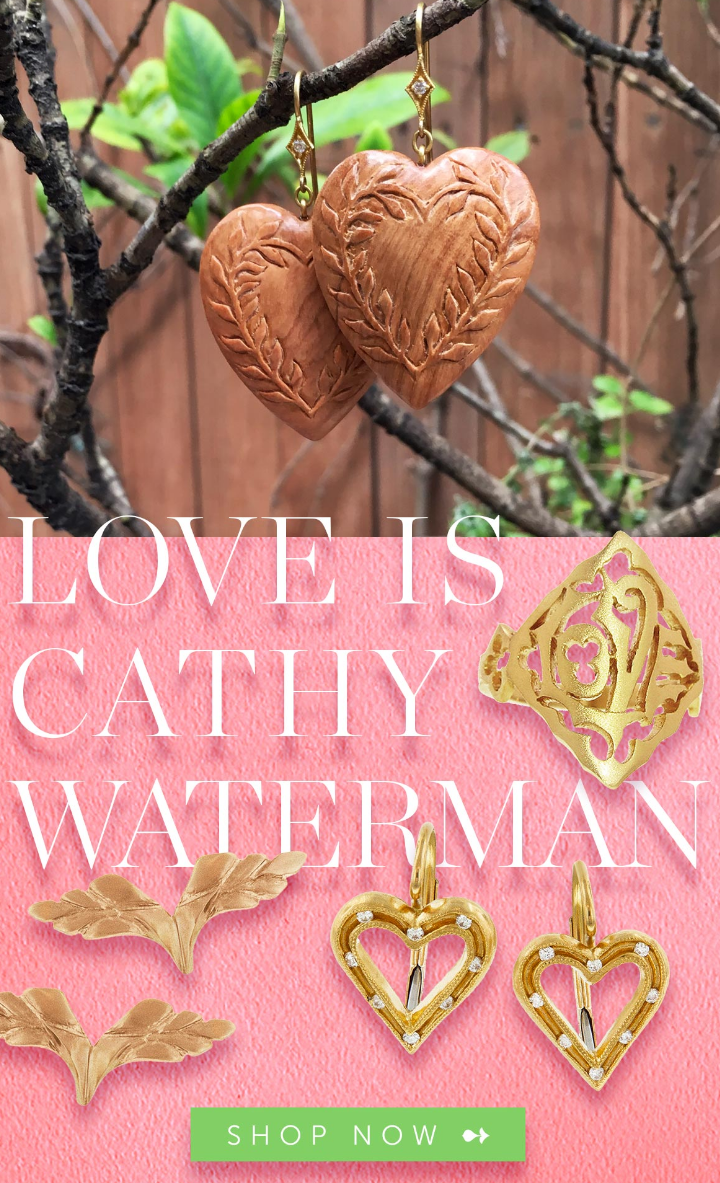 Designer and California native Cathy Waterman makes magic, taking inspiration from nature, whether i...