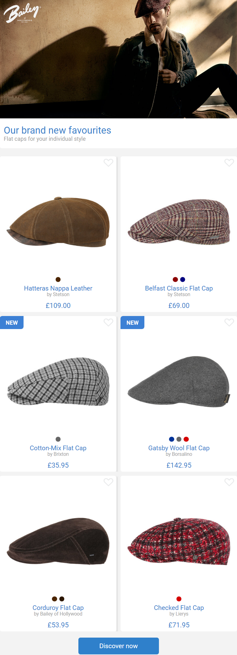 Flat caps for your individual style.